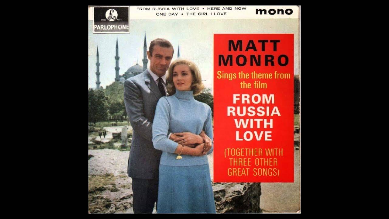"""Matt Monro: 'From Russia With Love' - Original 45"""" single versio..."""