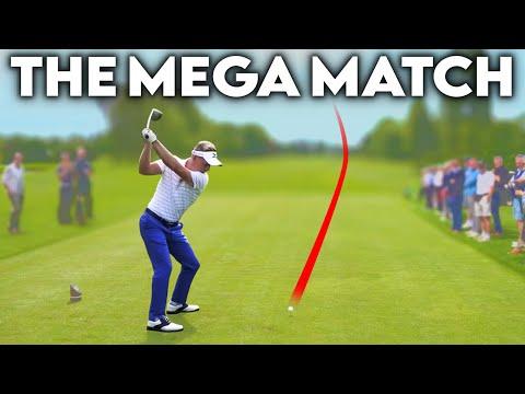 THE MEGA MATCH - Luke Donald, Chris Wood, Rick Shiels, Me + CROWDS!