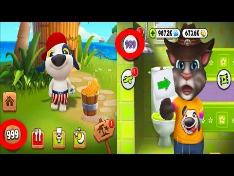 my-talking-hank-level-999-my-talking-tom-hank-level-999-ipadgameplay-make-for-children-#129