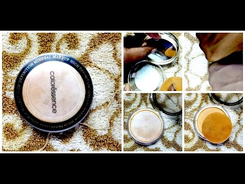 Review:Coloressence high definition mineral compact powder|by classicbeautyarts