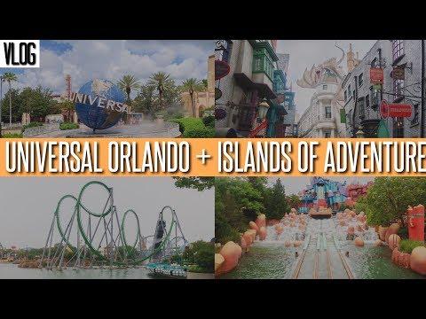 Universal Orlando & Islands of Adventure Vlog   June 2017