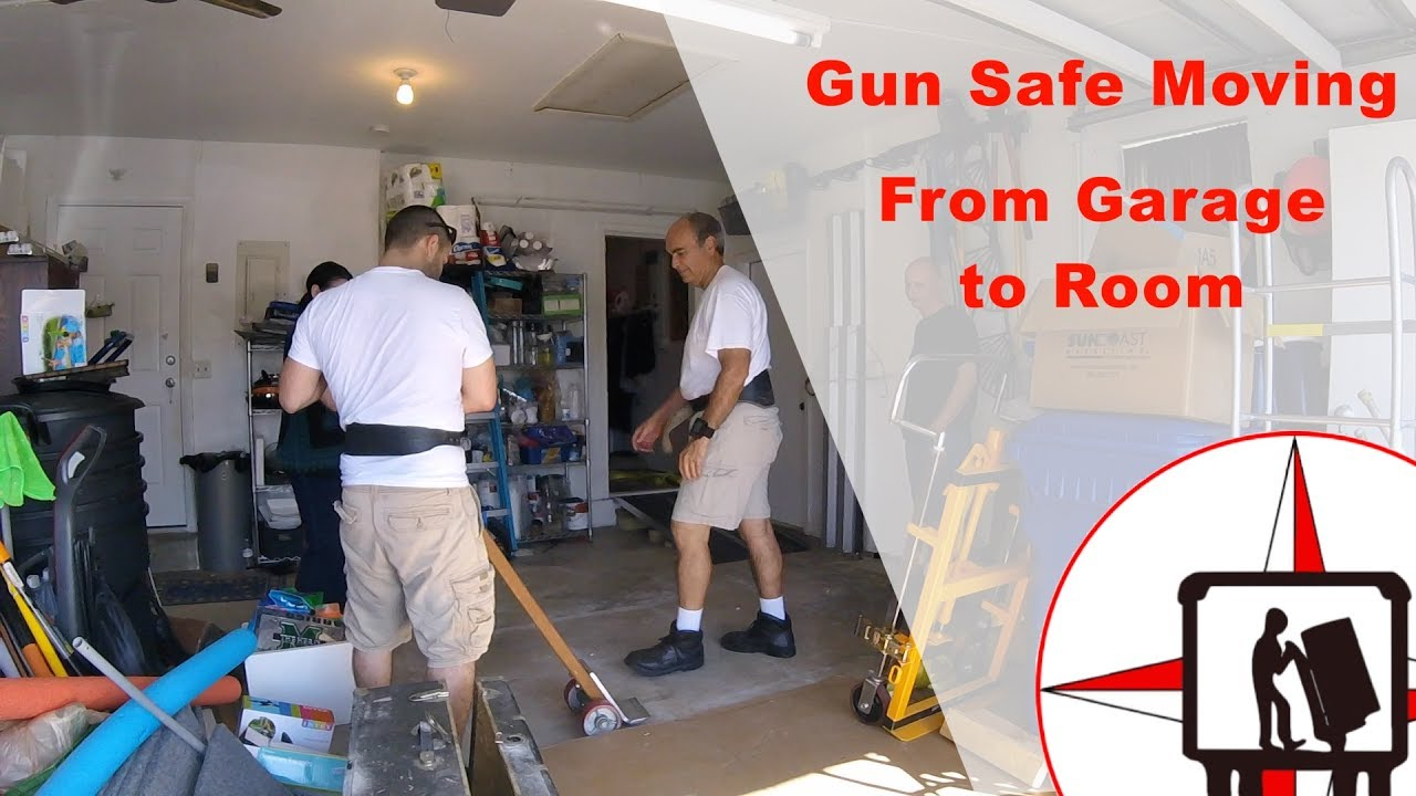 Move A Gun Safe Inside Of A Home From Garage To Room Must Watch