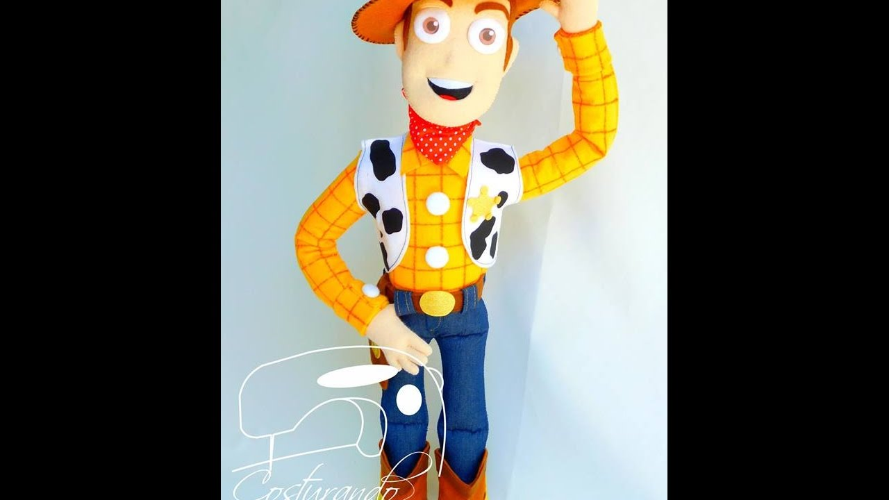 Passo a Passo - Personagem Woody - Toy Story - Zilma Rocha - YouTube 62abf248437