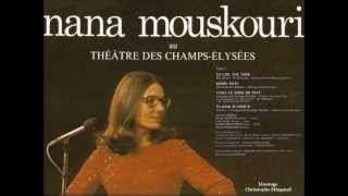 NANA MOUSKOURI - CONCERT THEATRE DES CHAMPS ELYSEES - PARIS 1974 - PART 1