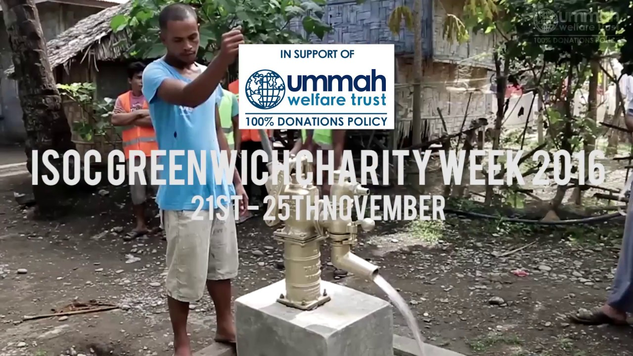 Download [ISOC Greenwich TV] - Charity Week Trailer 2016 - Water Wells Project
