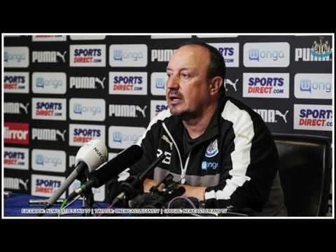 Rafa Benitez reveals to BBC Radio Newcastle why he never played Aleksandar Mitrovic