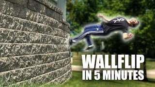 Learn to Wall Flip In 5 Minutes | ASAP
