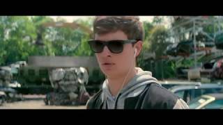 "BABY DRIVER ""Easy"" by Commodores movie scene 2017"