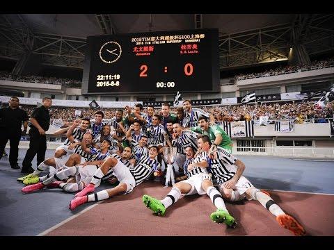 Supercoppa TIM 2015, Juventus-Lazio 2-0 - Italian Super Cup 2015, Juventus-Lazio 2-0