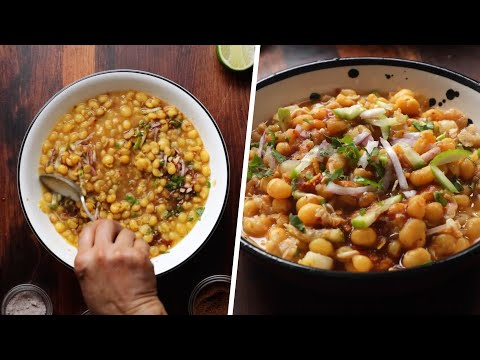 Making Street Style Chotpoti At Home
