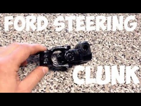 2008 Ford Escape Steering clunk issue fix.