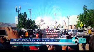 Town Hall Demolition El Paso,Texas 4-14-2013