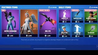 FORTNITE *NEW* ASTRO ASSASSIN SKIN + SHAKE IT UP EMOTE & ICE BREAKER PICKAXE!