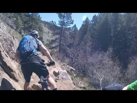 Mountain Biking Enchanted Forest/Apex/Chimney Gultch,  Golden, Colorado