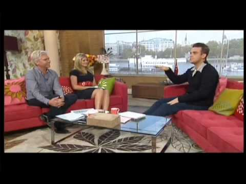 ♥ Robbie Williams - At This Morning Interview & You Know Me p1/2 ♥