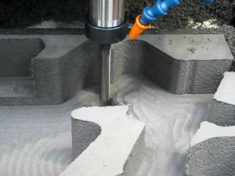 Milling Polyethylene Foam - Finish
