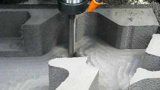 Milling Polyethylene Foam - Finish