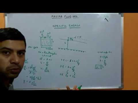 Specific energy Part I