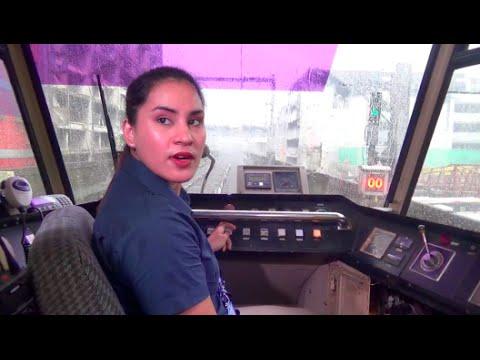 1st LRT 1 lady driver followed engine roar in her heart