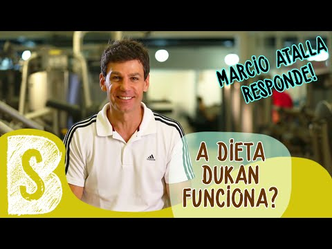 A DIETA DUKAN FUNCIONA?   Marcio Atalla Responde #10