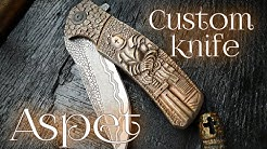Custom knife 'Aspet'