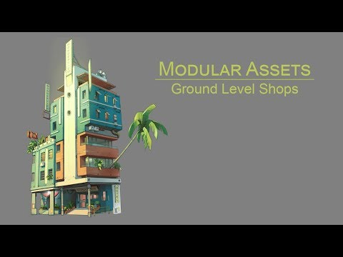 Modular Assets Project: Ground Floor Shops