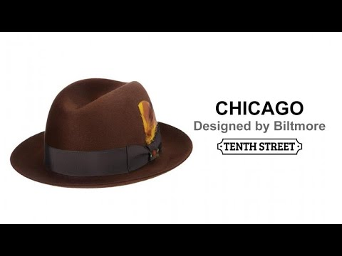 14d22740 Biltmore Eleganza Finish Fur Felt Fedora- Chicago - YouTube