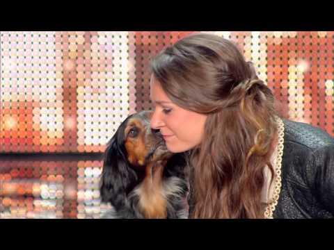 JULIETTE ET CHARLIE: The Golden Buzzer ! France's Got Talent 03 November 2015