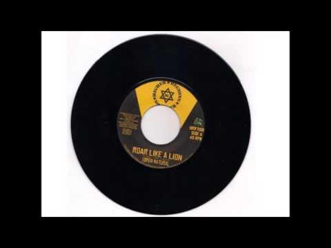 Idren Natural ROAR LIKE A LION (Remix) Higher Regions Records 7 inch