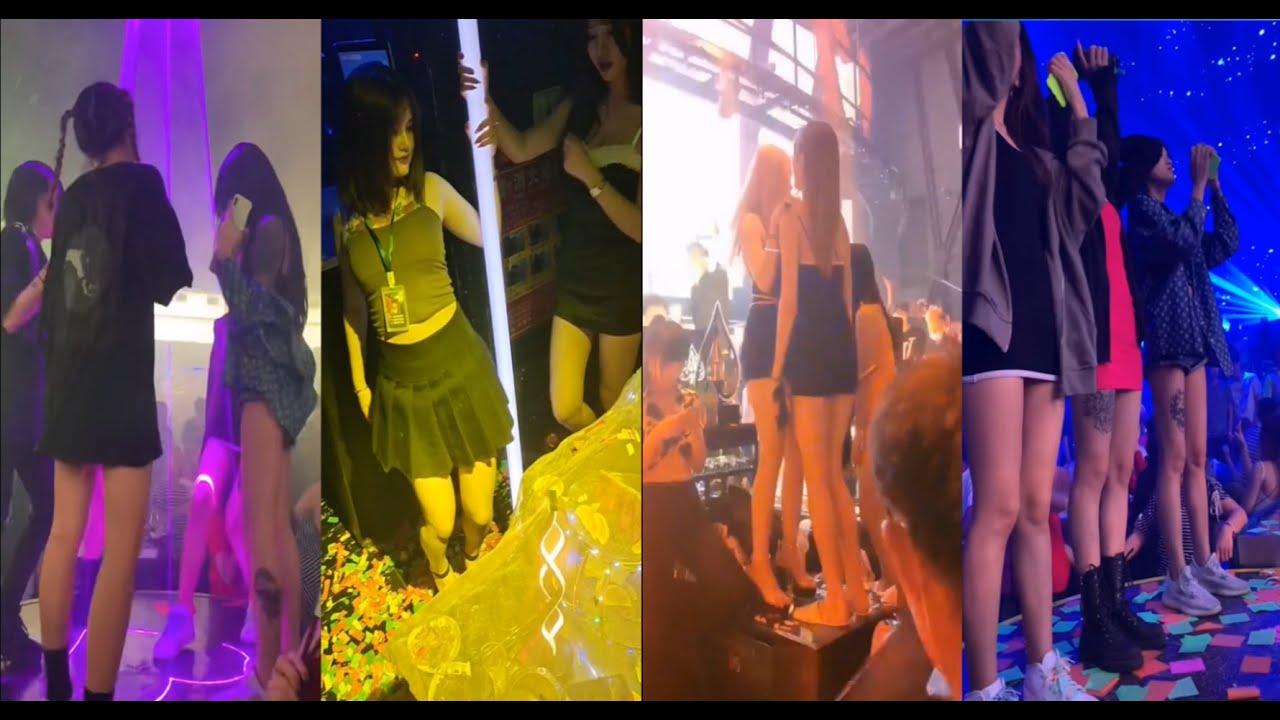 Girls having fun in the club 2 | 蹦迪選手們上線!有錢人的樂園 2!