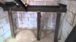 Начали делать металлический каркас лестницы(, 2013-12-19T12:31:21.000Z)