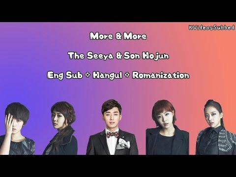 The Seeya & Son Hojun _ More & More [Eng Sub + Han + Rom] HD