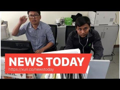 News Today - Friends of the Reuters reporter arrested in Myanmar poured out his heart on Soc