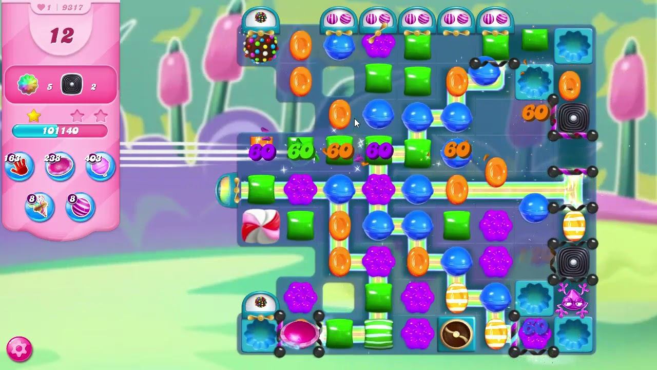 Download Candy Crush Saga Level 9317 NO BOOSTERS