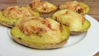 Ziemniaki faszerowane z piekarnika / Kasia ze slaska gotuje
