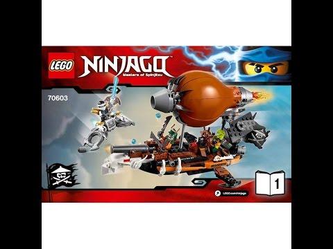 LEGO Ninjago.Дирижабль Штурмовик.Игрушки для Детей.Ниндзя го.#Лего .