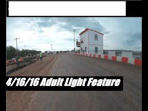 KC RaceWay Adult Light Feature 4/16/16