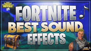 All Fortnite Sound Effects - Season 1 (HD)