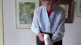 Papiers pour peinture asiatique et démonstration ASIART