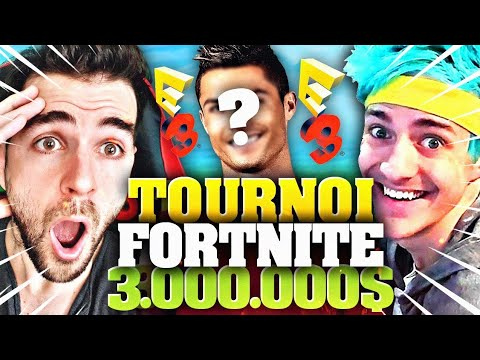 🔥MON DUO ACTEUR au TOURNOI Contre NINJA à 3 Millions $ à l'E3 Pro Am Fortnite!