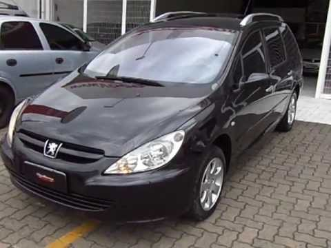 Peugeot 307 sw 2 0 16v aut 2005 youtube for Interieur 307 sw