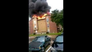 Fire at Eagle Crest Apartment Part 2