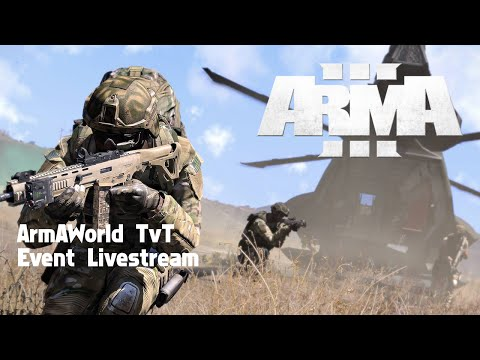 ArmAWorld Coopetition #003 - Live kommentiertes ArmA3 TvT Event