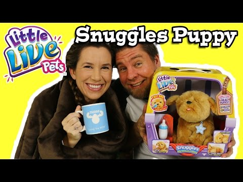 Little Live Pets Snuggles My Dream Puppy - Review & Play