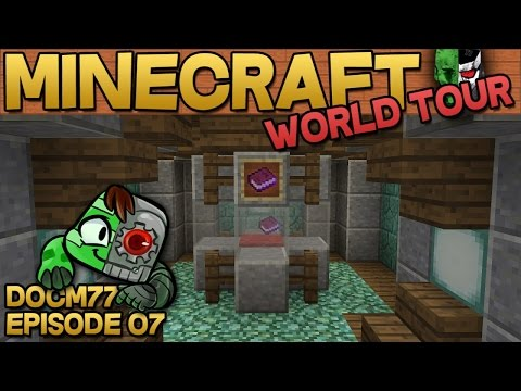 Item Display Case & The Nether Spike - The Minecraft World Tour - S4E07 | Docm77