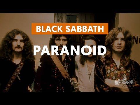 Paranoid - Black Sabbath (aula de guitarra)