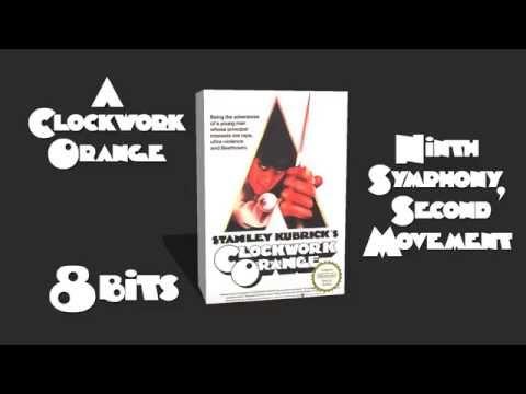 "A Clockwork Orange ""Ninth Symphony, Second Movement"" | 8 Bits Theme"