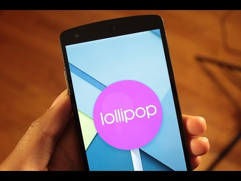 Top 5 Android Lollipop Features