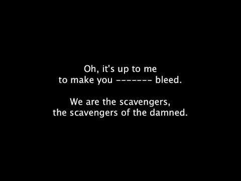 Lyrics   Scavengers Of The Damned   Aiden
