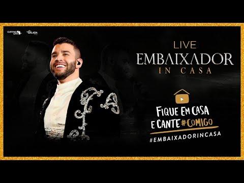 Gusttavo Lima - Live Embaixador In Casa   #FiqueEmCasa e Cante #Comigo